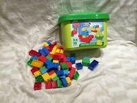 Mega Blocks create and play