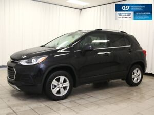 2018 CHEVROLET TRAX LT - AWD, Alloys, Bluetooth, Sunroof and 0.9