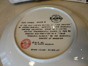 Set of 10 Knowles Ltd. Edition Norman Rockwell Collector Plates Kitchener / Waterloo Kitchener Area image 6