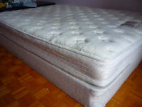 Urgent! Queen Size Matress & Bed. Excellent cond. Reduced price!