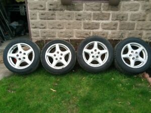 4  Trans Am wheels with tires