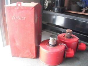 Ratrod, rat truck vintage smudge pots, antique