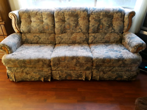 Lazy-Boy Double Recliner Couch