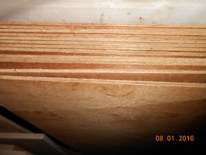 12 sheets quarter inch teak  all matching grain.
