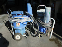2  Graco 433  Airless Spray Pumps