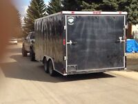 2014 16' x 8.5' Enclosed cargo trailer