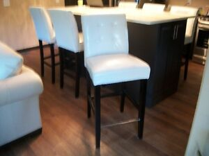SIX 29/30 INCH BAR HEIGHT ISLAND STOOLS