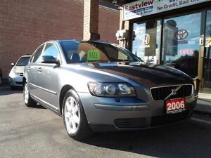 2006 Volvo S40 NO ACCIDENT,AUTO,AIR,LEATHER,ALLOYS.$4888.- Sedan