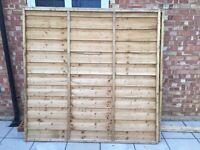 Solway Fence Panels 6x6