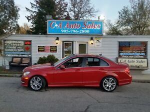 2013 Mercedes-Benz C-Class C350 4matic Sport ONE OWNER,XMAS sale