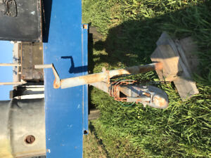 """Utility trailer   With 5'9"""" x 9'0"""""""" plate steel deck"""