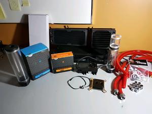 Watercooling hardware ensemble de pièces