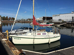 1970 Westerly 22 Cirrus Sailboat - Will pay winter storage