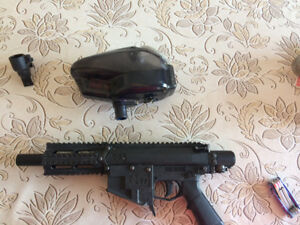 Paintball milsig m17 Avec full automatique.