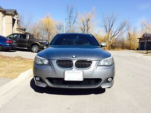 2008 BMW 5 Series 535xi xDrive Twin Turbo M Package Heads-up