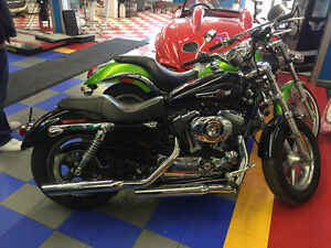 2013 HARLEY XL1200 08 KAWASAKI VULCAN ARCTIC CAT 700  to trade