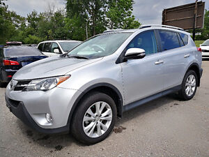 2014 Toyota Rav4 AWD Limited top of the line