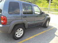 2002 Jeep Liberty sport SUV, Crossover ONLY 170000 KMS