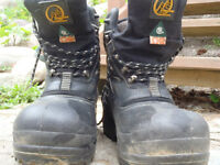 Absolute Zero Insulated SCA WORK BOOTS Size 7