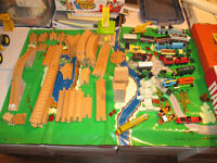 Large Set of Thomas the Tank Engine Trains and Tracks
