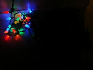 Noma LED (Christmas indoor/outdoor) lights - 25 or 50 bulb C9 QC Kitchener / Waterloo Kitchener Area image 2
