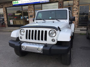 2016 Jeep Wrangler Sahara unlimited