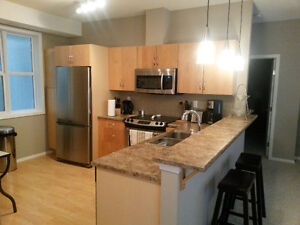 Avail Immed -2 bed, 2 bath fully furnished condo- fort sask Strathcona County Edmonton Area image 2