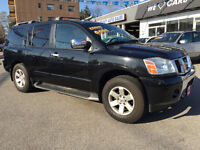 2004 NISSAN PATHFINDER ARMADA LIMITED TOURING 4X4..7 SEATS