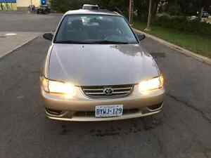 2000 Toyota Corolla CE with CERTIFY&EMISSION Mint