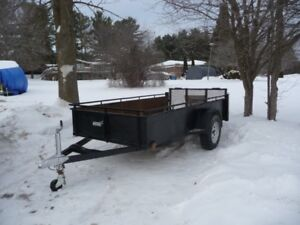 10 FT 3IN X 5FT ALL METAL TRAILER