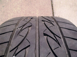 BMW E46 style 45 Mags with summer tires 205/55R16 West Island Greater Montréal image 6
