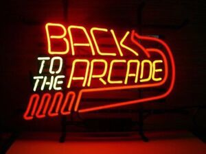 New Back To The Arcade Neon Light Sign 17