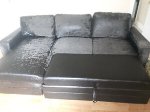 Free Sectional Ready for Upholstery