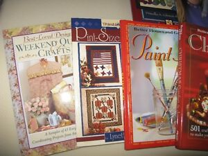 BOOKS - QUILTING, PAINTING, KNITTING
