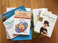 Livres maternité, puériculture et grossesse