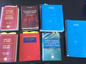 Ensemble de livres de Droit