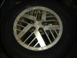 WANTED, Transportation To SHERBROOKE , Que of 4 Rims with tires