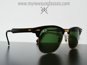 Lunettes de soleil Rayban - Aluminium Clubmaster - Hand made