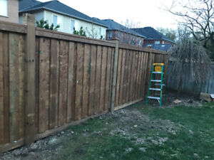 Fencing and fence repairs