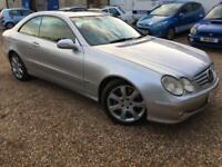 2004 '54' Mercedes CLK500 Elegance. CLK 5.0 Petrol V8 Auto. Needs TLC. Px Swap