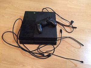 PS4 usagé avec 10 jeux à vendre