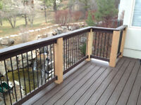 Deck and Fence season is upon us. Call for a prompt quote.