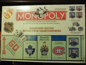Monopoly NHL Collector's Edition - 1999 - New in Box