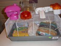 cage pour hamster ou rongeurs