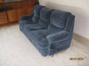 Swivel couch & swivel recliner chair