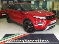 2012 Land Rover Range Rover Evoque 2.2 SD4 Dynamic Lux AWD 5dr Diesel red Automa