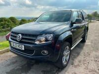 2012 Volkswagen Amarok DC TDI HIGHLINE 4MOTION FULL LEATHER PICK UP WITH hard TO