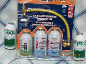 A/C Deluxe Recharge & Sealant Kit