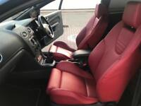 2008 08 Ford Focus 2.5 ST-500 ST500 BLACK + RED LEATHER + LOW MILEAGE