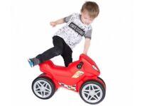 Pilsan ride along Mini Moto in red
